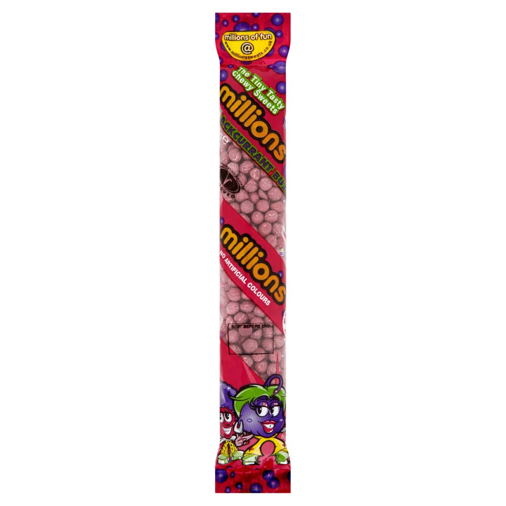 Millons Tubes Blackcurrant