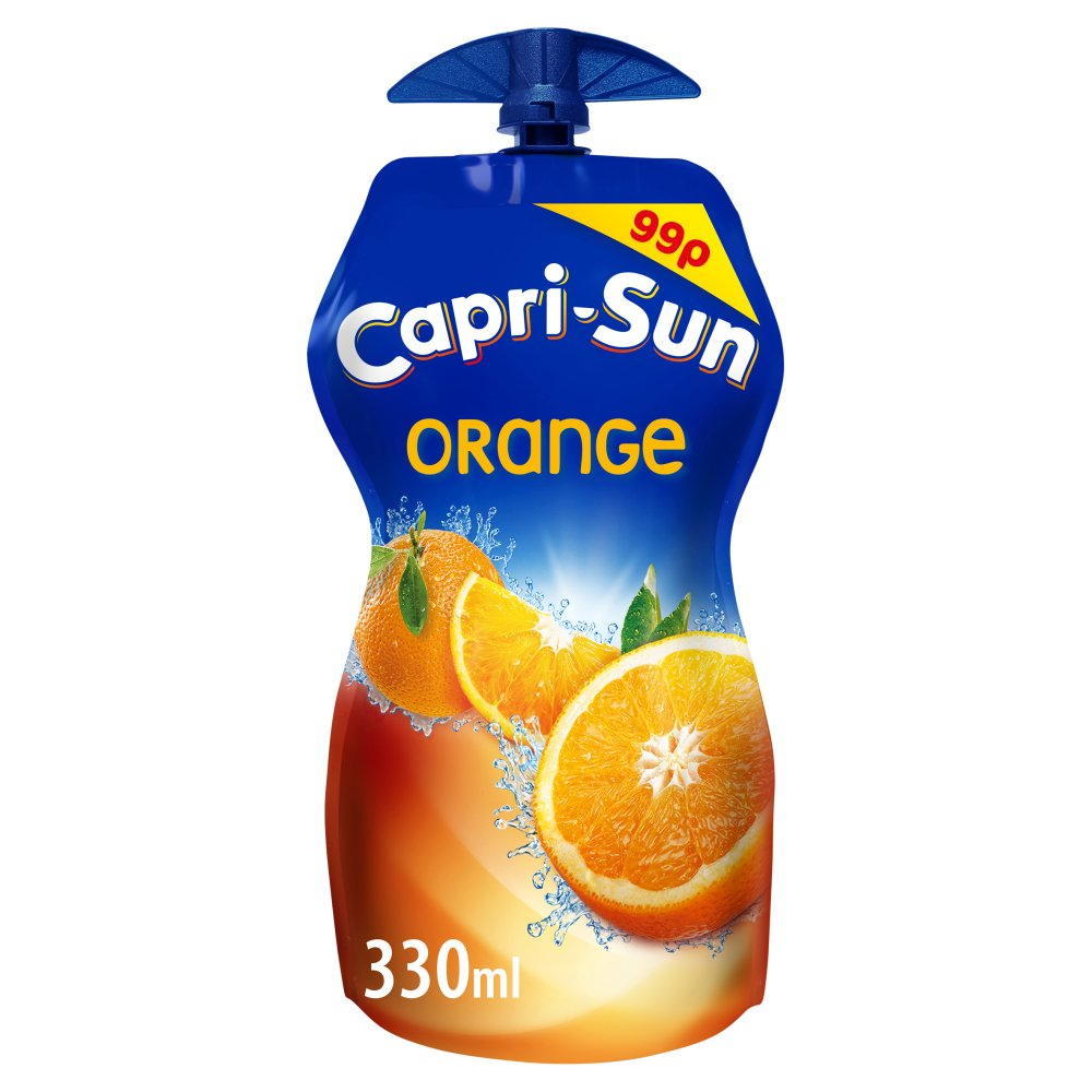 Capri-Sun Orange 330ml PM 99p x 15