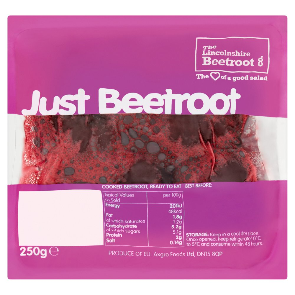 The Lincolnshire Beetroot Co. Just Beetroot 250g
