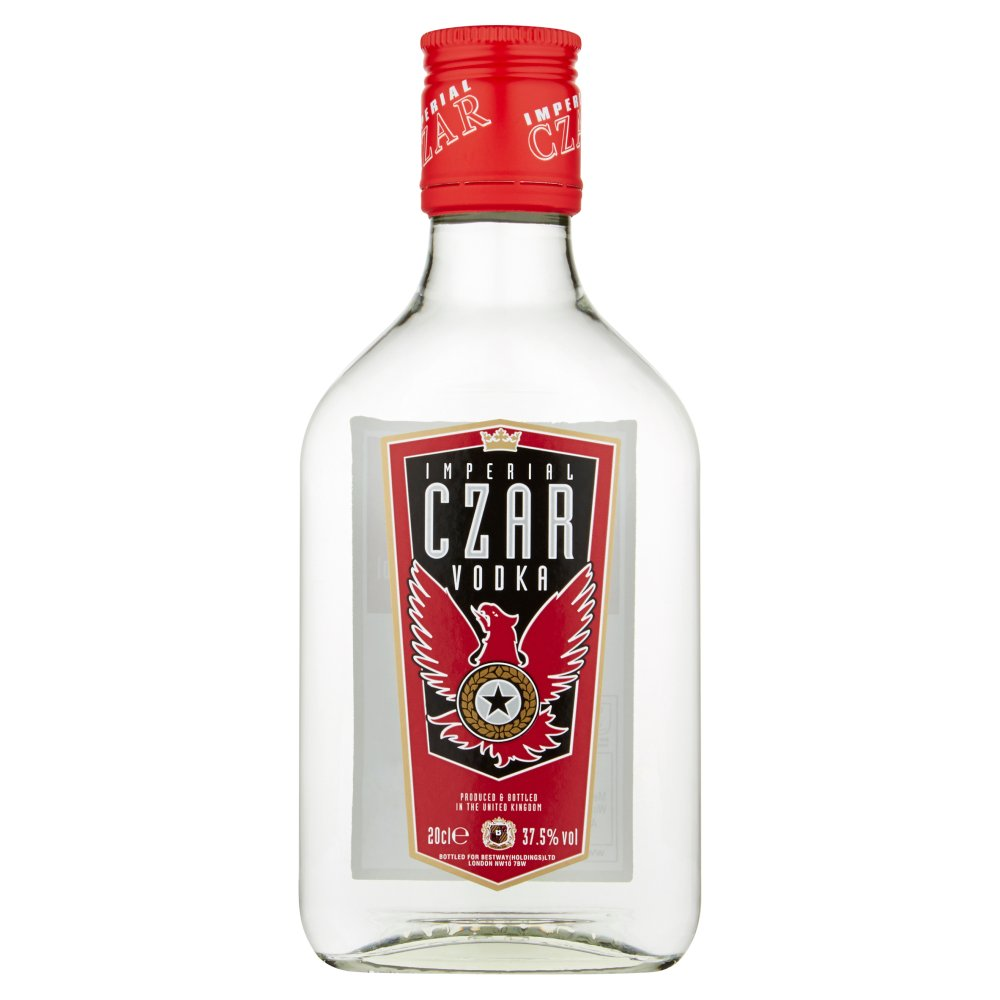 Imperial Czar Vodka Ds 20cl