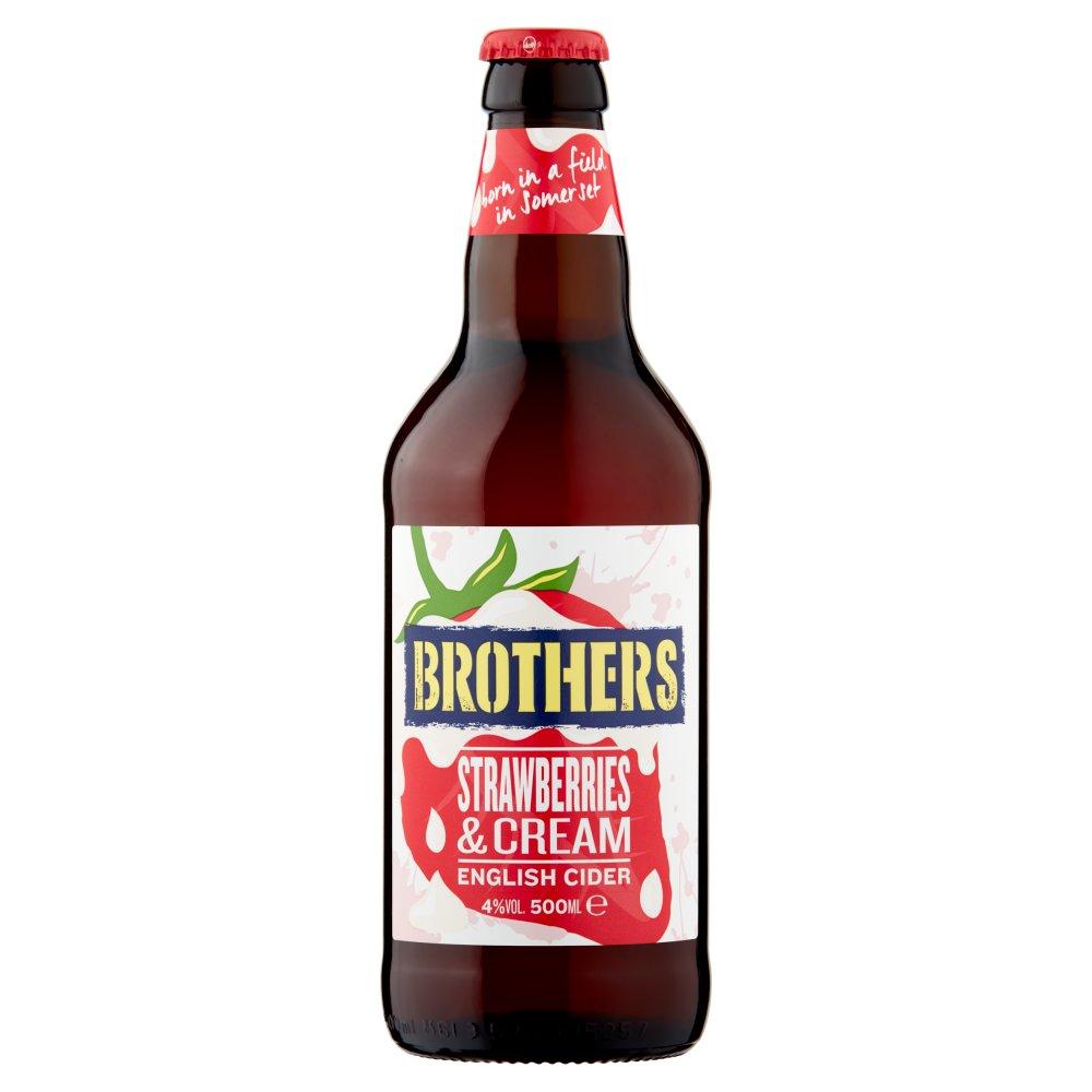 Brothers Strawberries & Cream English Cider 500ml