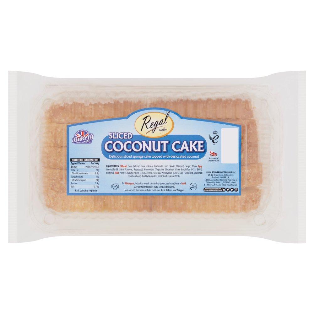Regal Bakery Sliced Coconut Cake