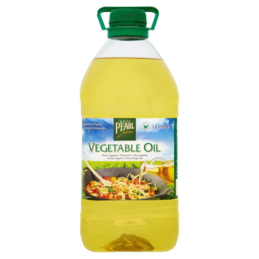 White Pearl Vegetable Oil 3Ltr