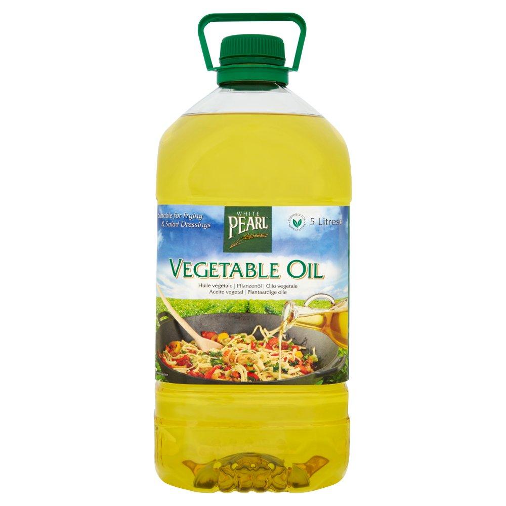 White Pearl Vegetable Oil 5 Litres