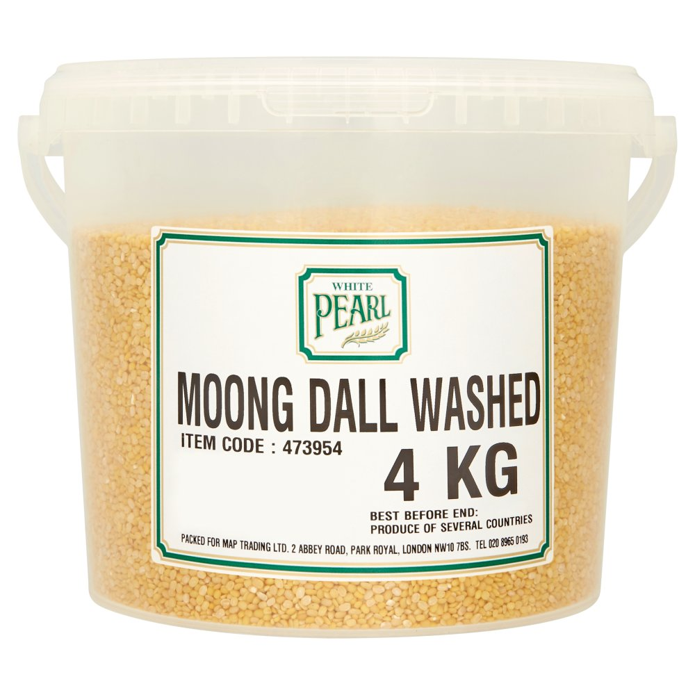 White Pearl Moong Dal Washed