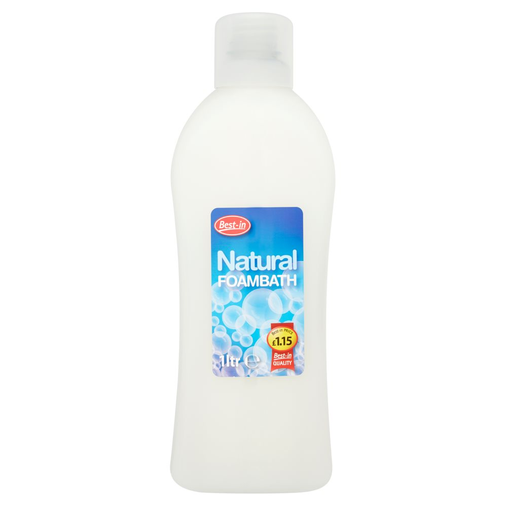 Bestin Natural Bath Foam PM £1.15