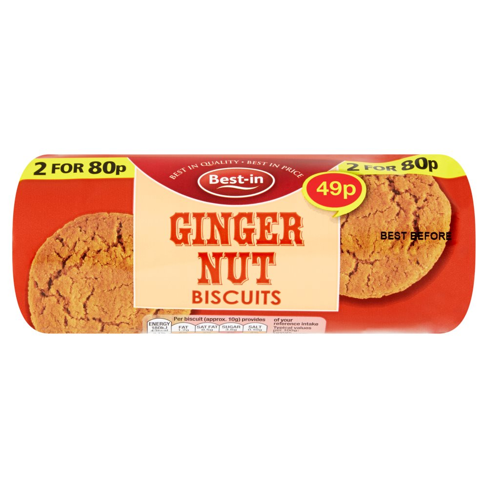 Bestin Ginger Nuts PM 49p