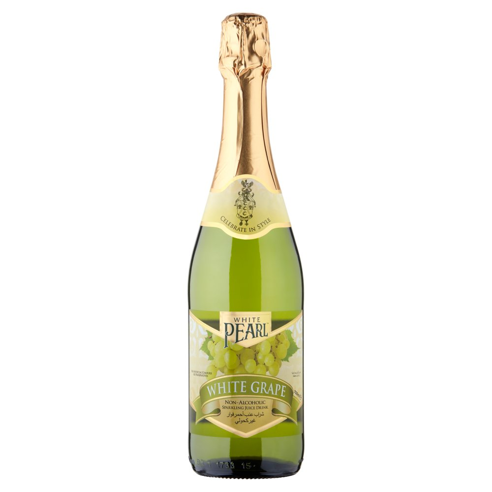 White Pearl Sparkling White Grape Juice Nonalcohol