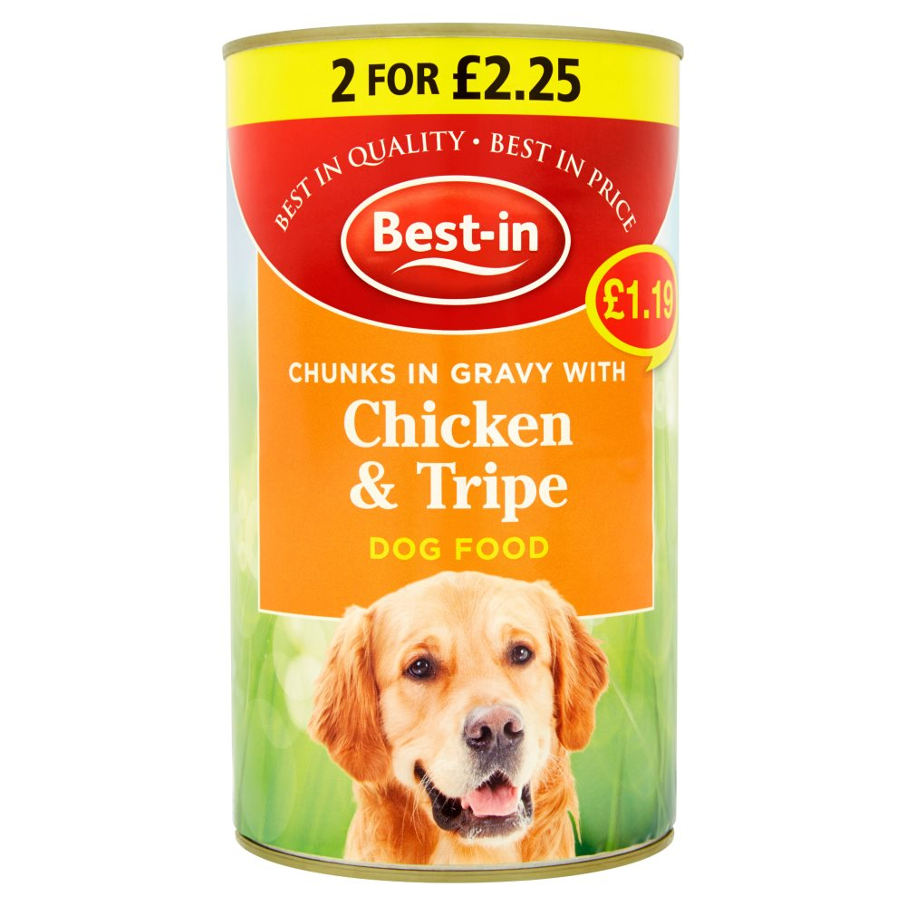 Bestin Dog Chick Tripe PM £1.19