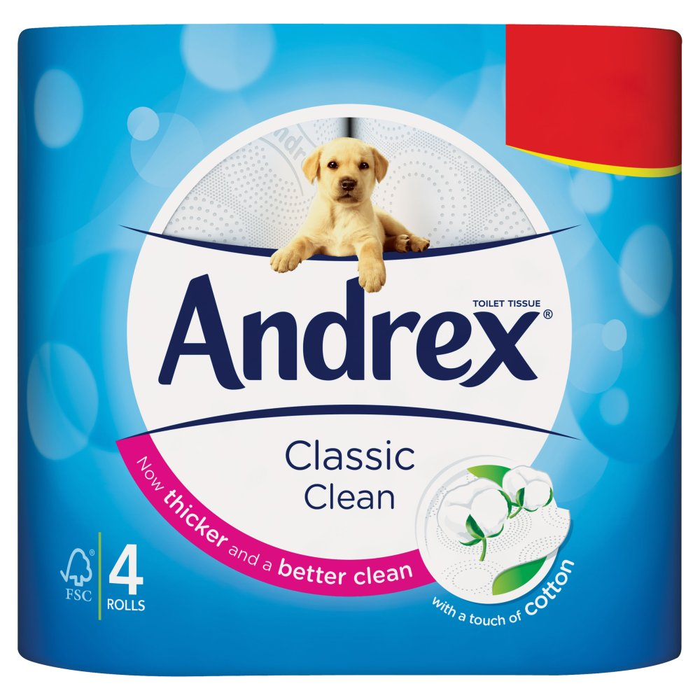 Andrex White PM £1.99