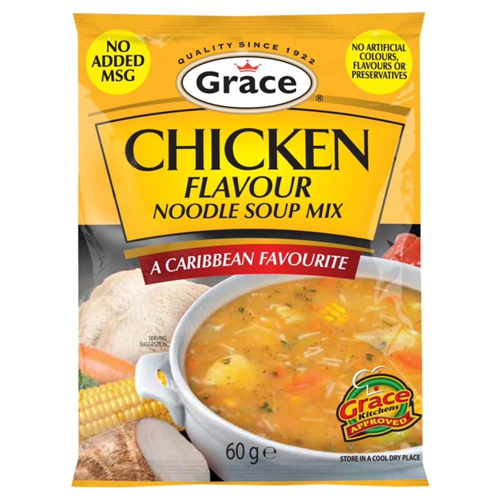 grace chicken flavour noodle soup mix 60g  bb foodservice