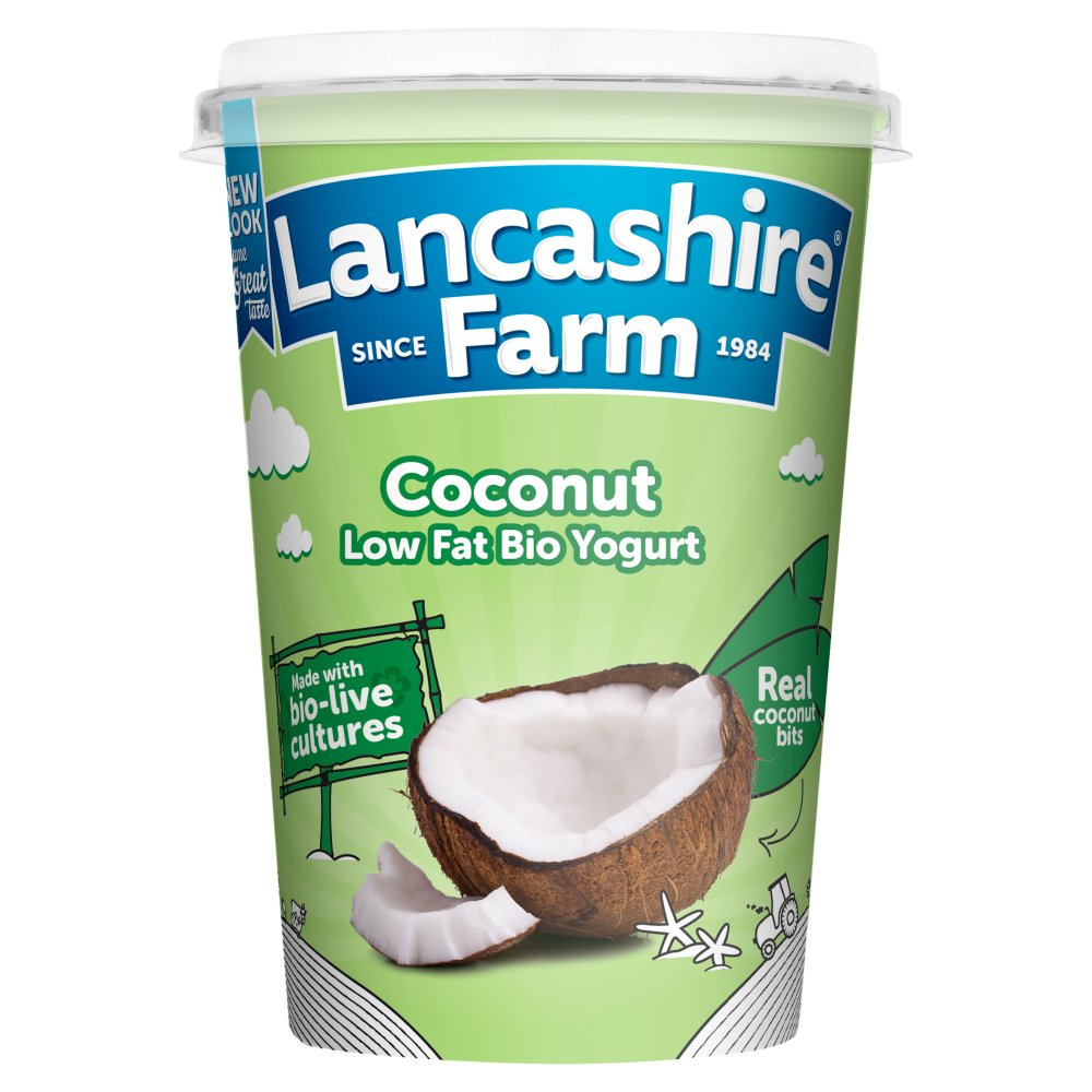 Lancashire Coconut Low Fat Yogurt