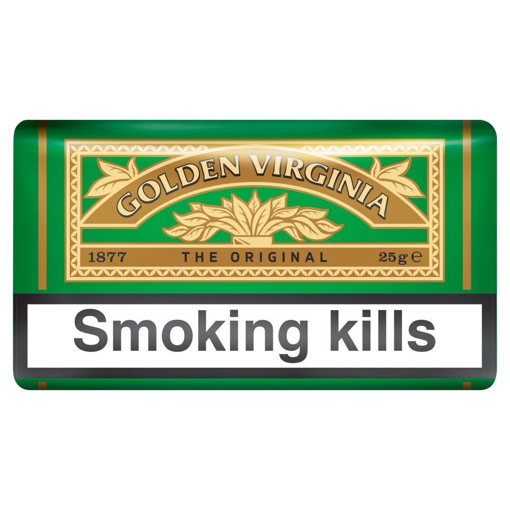 Golden Virginia Pouch 25g