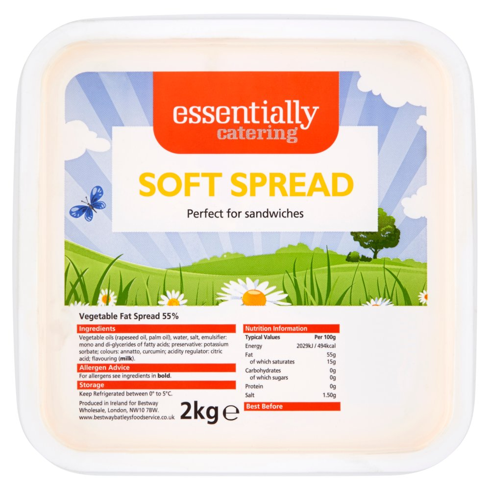 Essentially Catering Soft Spread 2kg