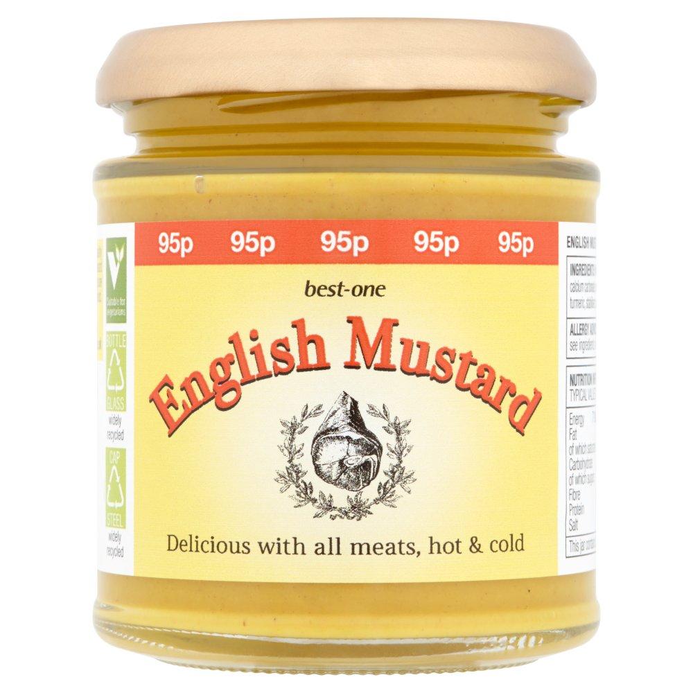 Best-One English Mustard 185g