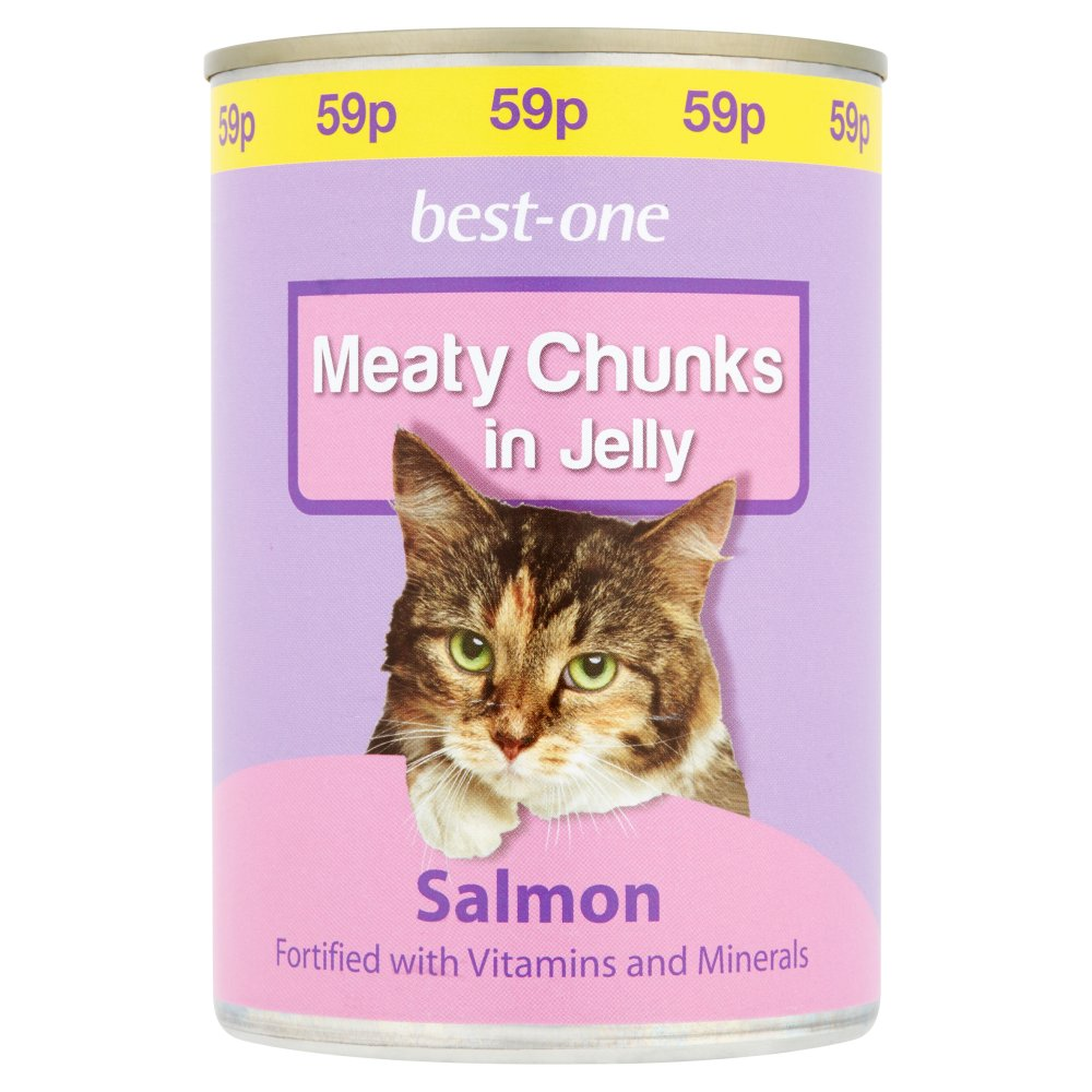 Best-One Meaty Chunks in Jelly Salmon 400g