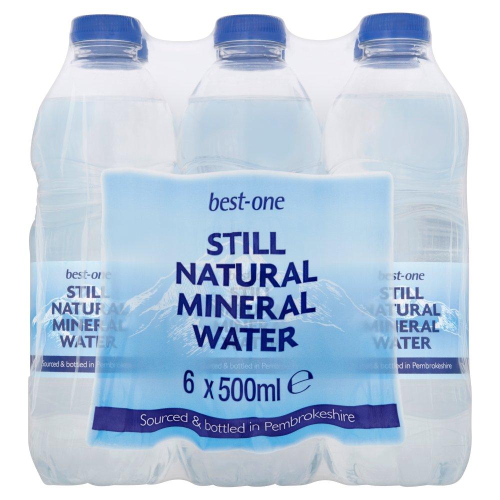Best-One Still Natural Mineral Water 6 x 500ml