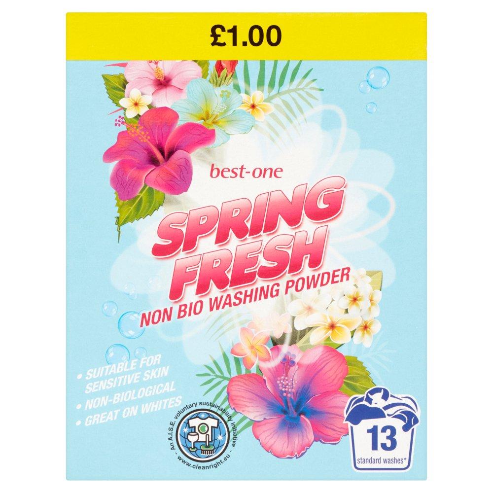 Best-One Spring Fresh Non Bio Washing Powder 884g