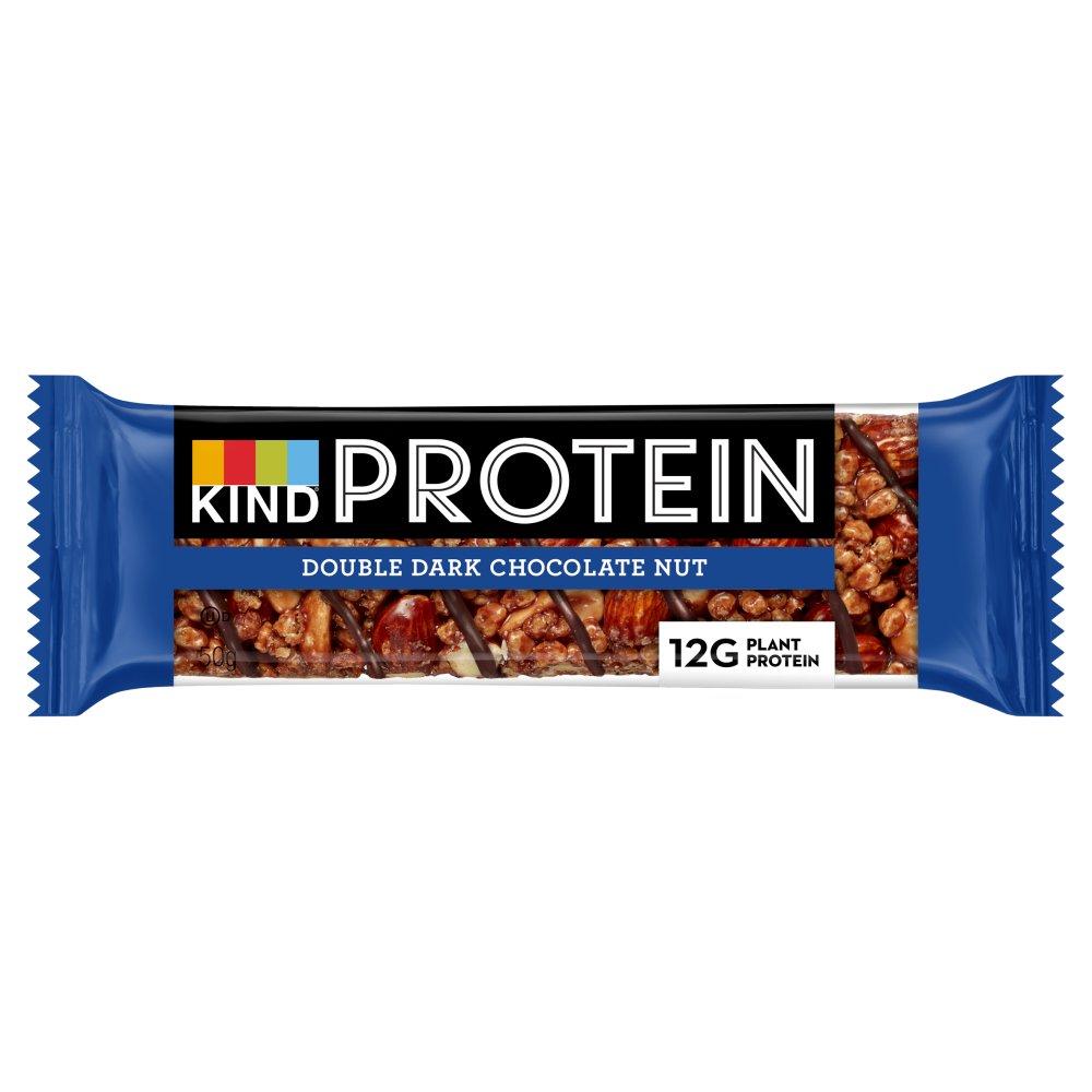 KIND Protein Double Dark Chocolate Nut Snack Bar 50g