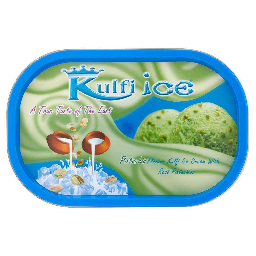 Kulfi Ice Pistachio Flavour Kulfi Ice Cream with Real Pistachios 1 Litre