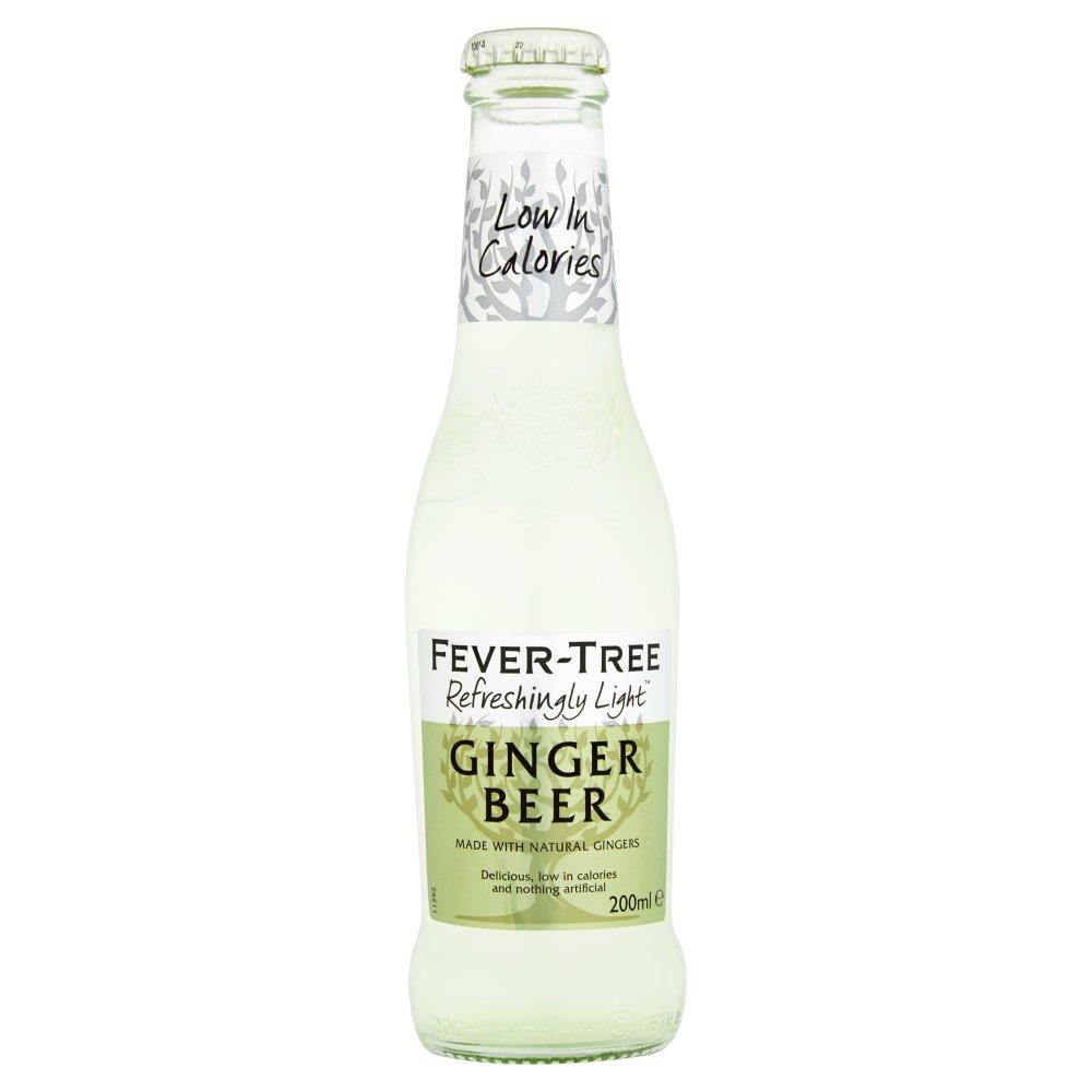 Fever-Tree Refreshingly Light Ginger Beer 200ml