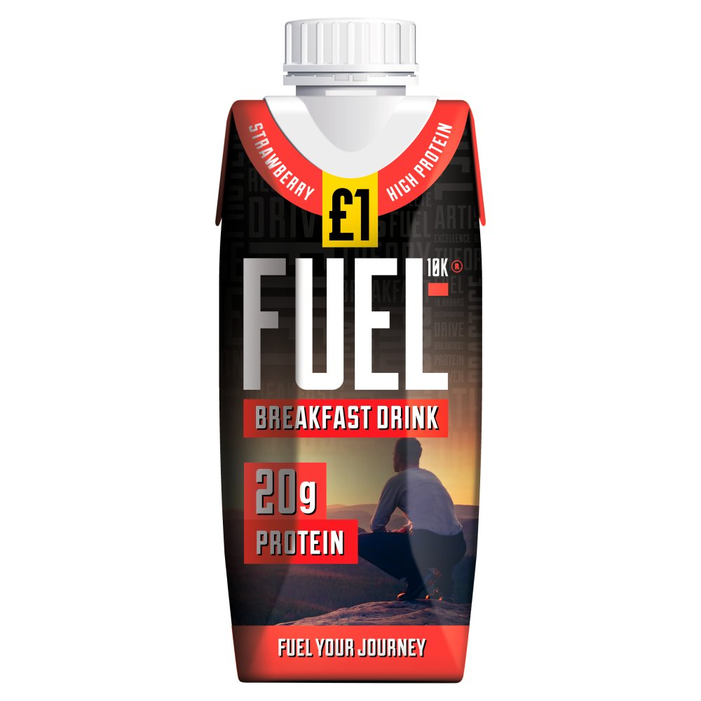 Fuel10K Strawberry Breakfast Drink £1
