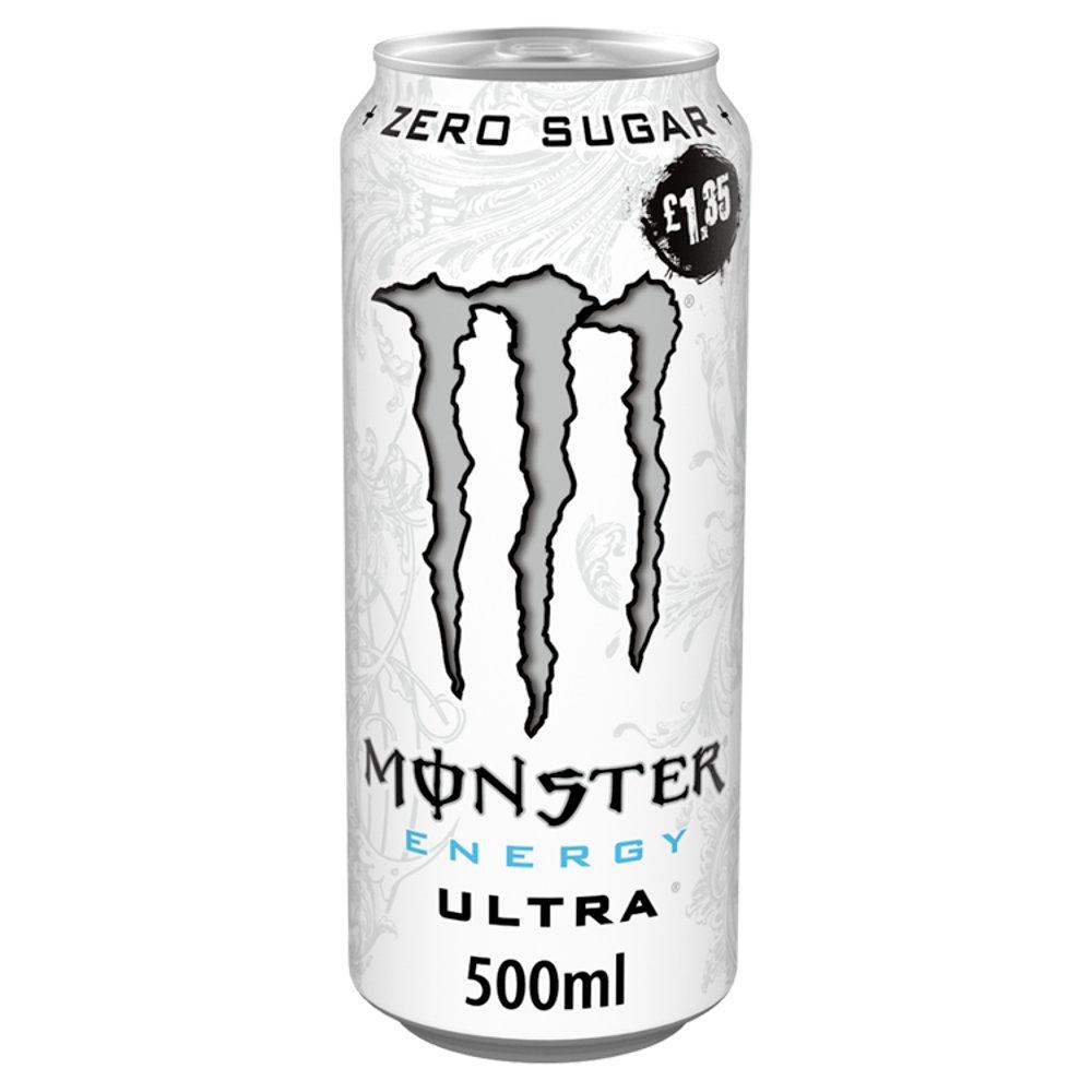 Monster Ultra Energy Drink 12 x 500ml PM £1.35