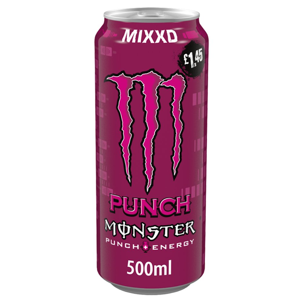 Monster Mixxd Punch Energy Drink 500ml PM £1.45