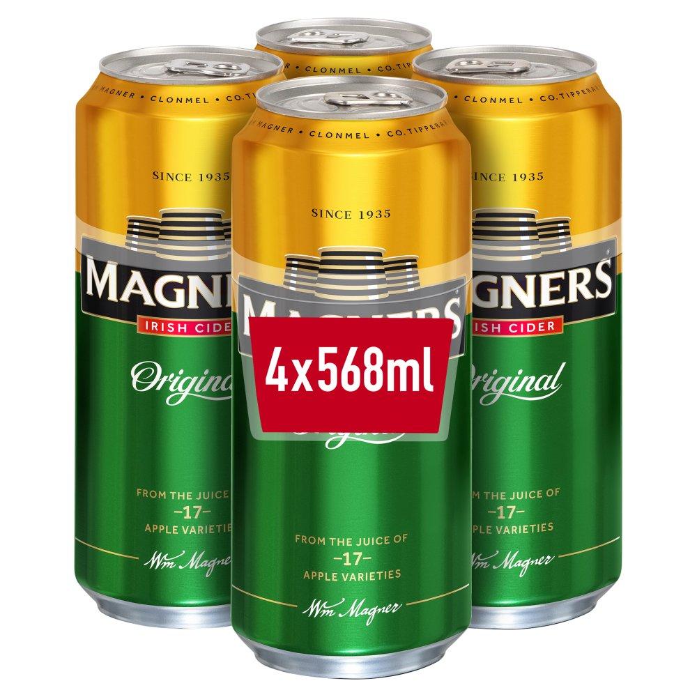 Magners Irish Cider Original Apple 4 x 568ml