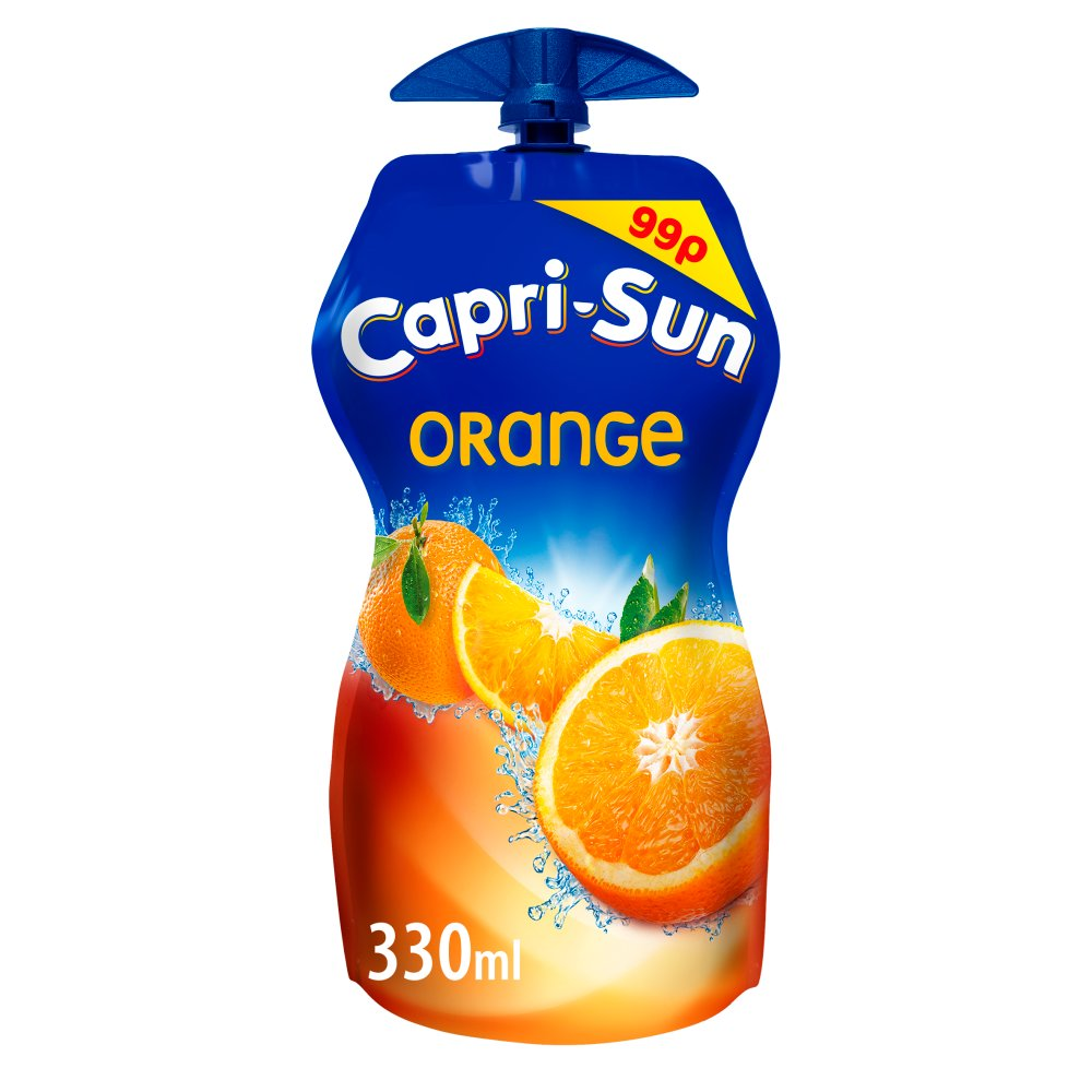 Capri-Sun Orange Juice Drink 330ml PMP 99p