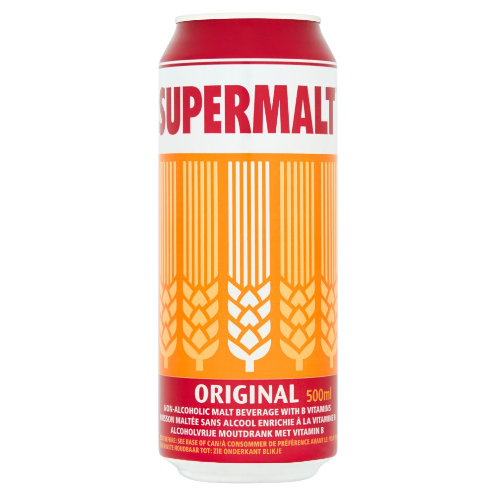Supermalt Cans 50percent Extra Free Of Cost