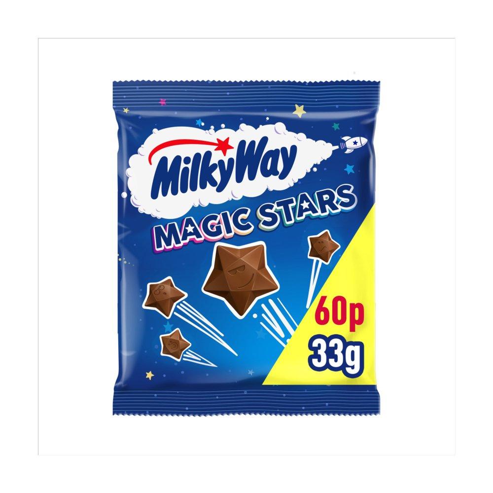 Milky Way Magic Stars Chocolate £0.60 PMP Bag 33g