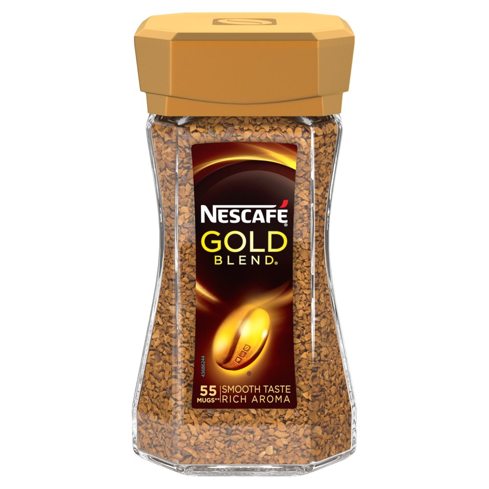 Nescafe Gold Blend Black Instant Coffee 100g