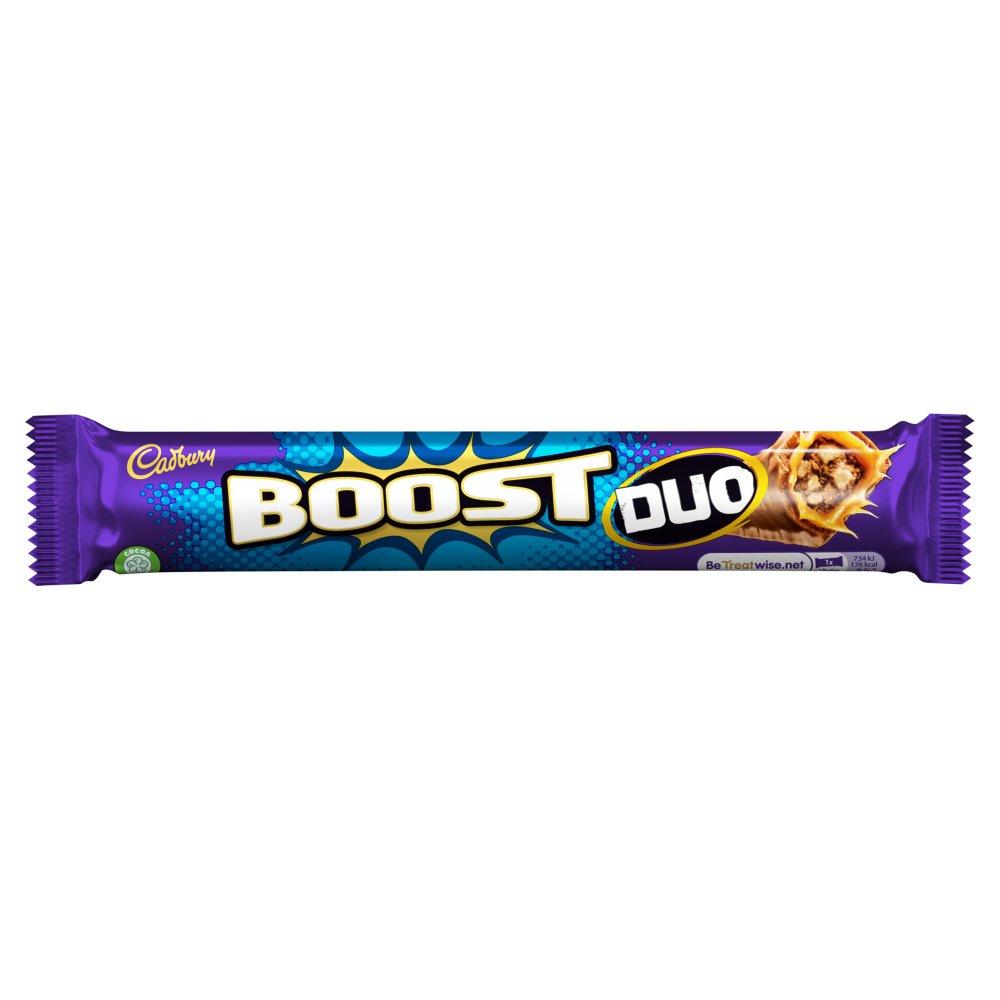 Cadbury Boost Duo Chocolate Bar 68g Bestway Wholesale