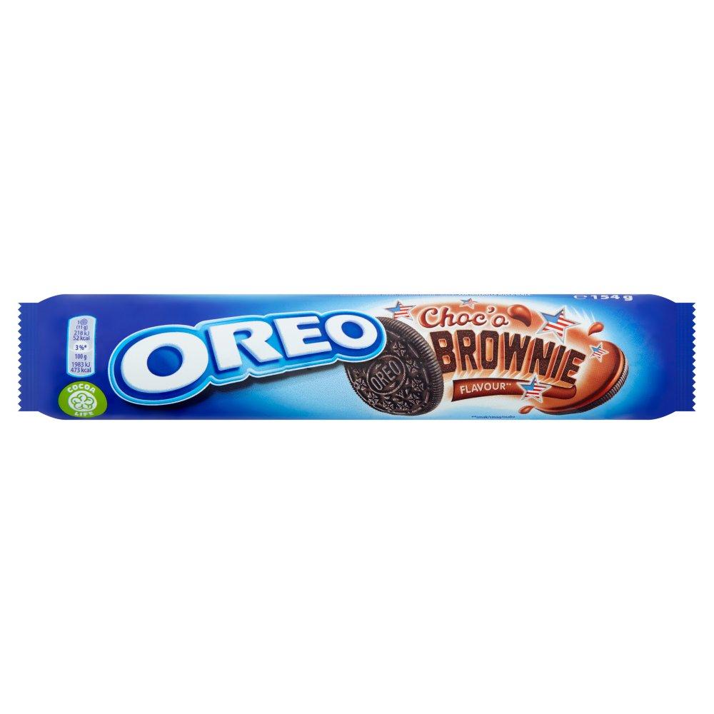 Oreo Choc'o Brownie Sandwich Biscuit 154g