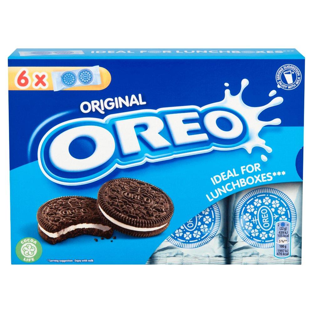 Oreo Original Vanilla Chocolate Sandwich Biscuit 132g