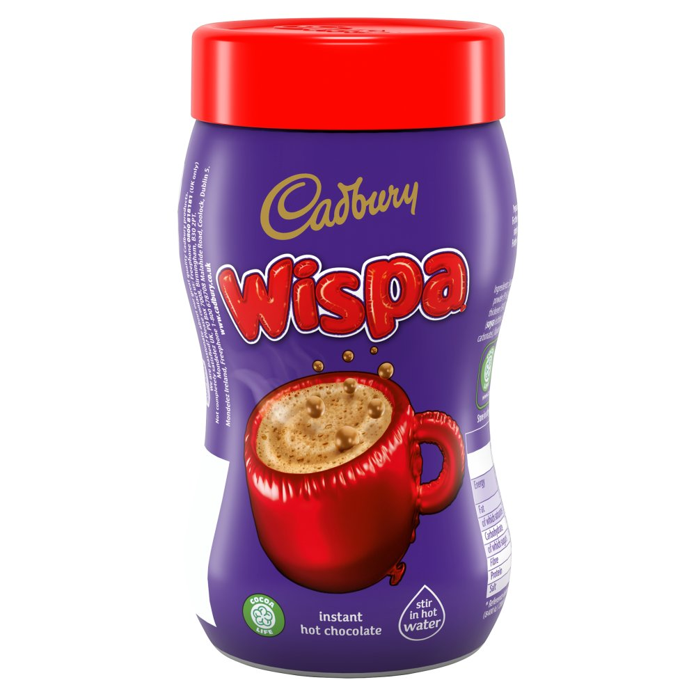 Cadbury Wispa Frothy Instant Hot Chocolate 246g