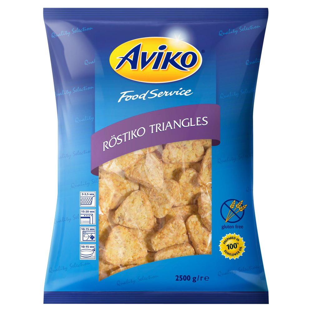 Aviko Food Service Röstiko Triangles 2500g