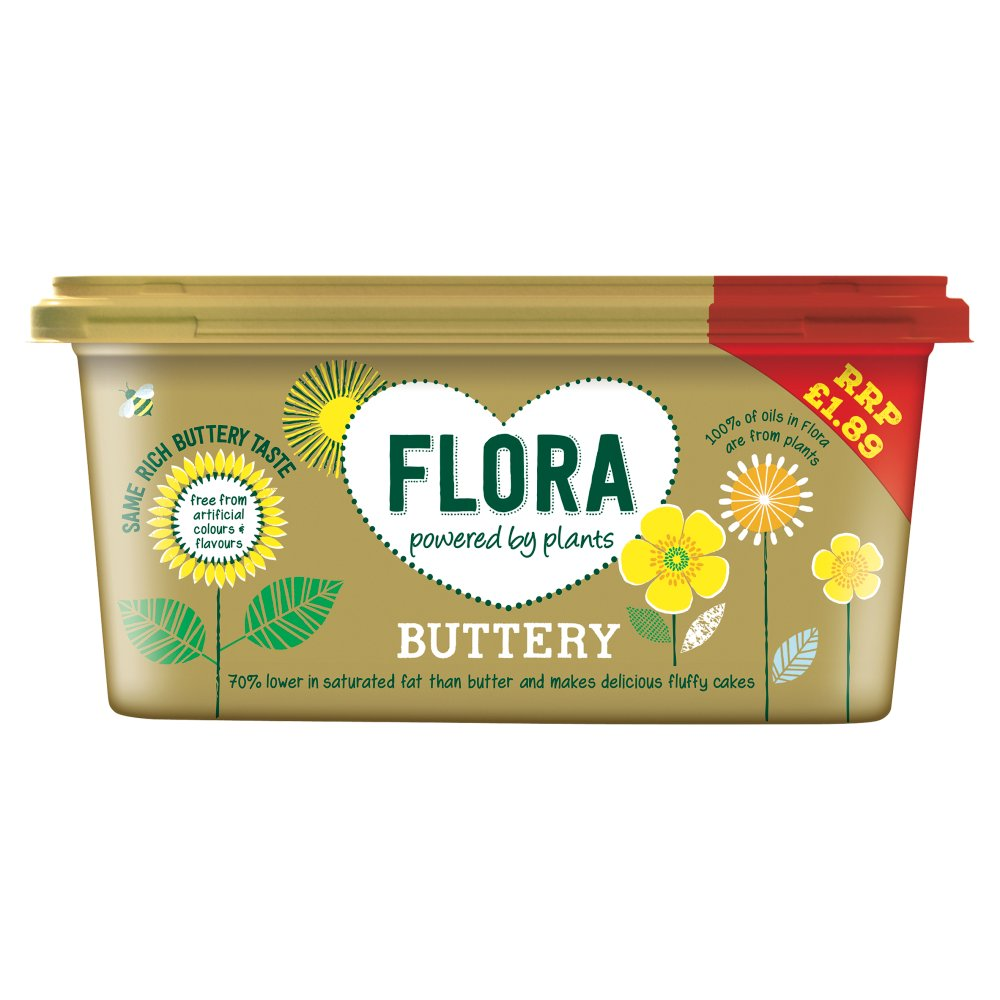 Flora Spread Butterly PM £1.89