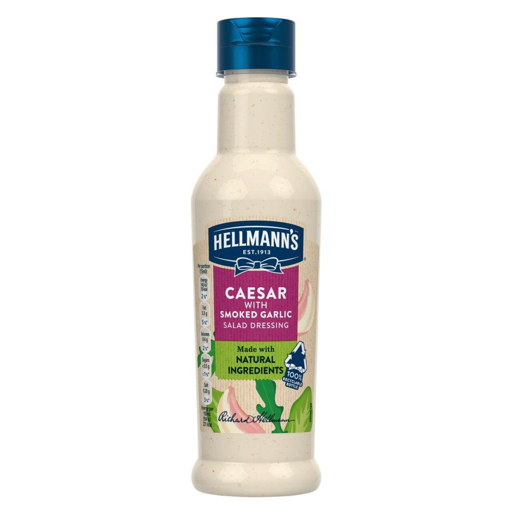 Hellmann's Caesar with Smoked Garlic Salad Dressing 210ml