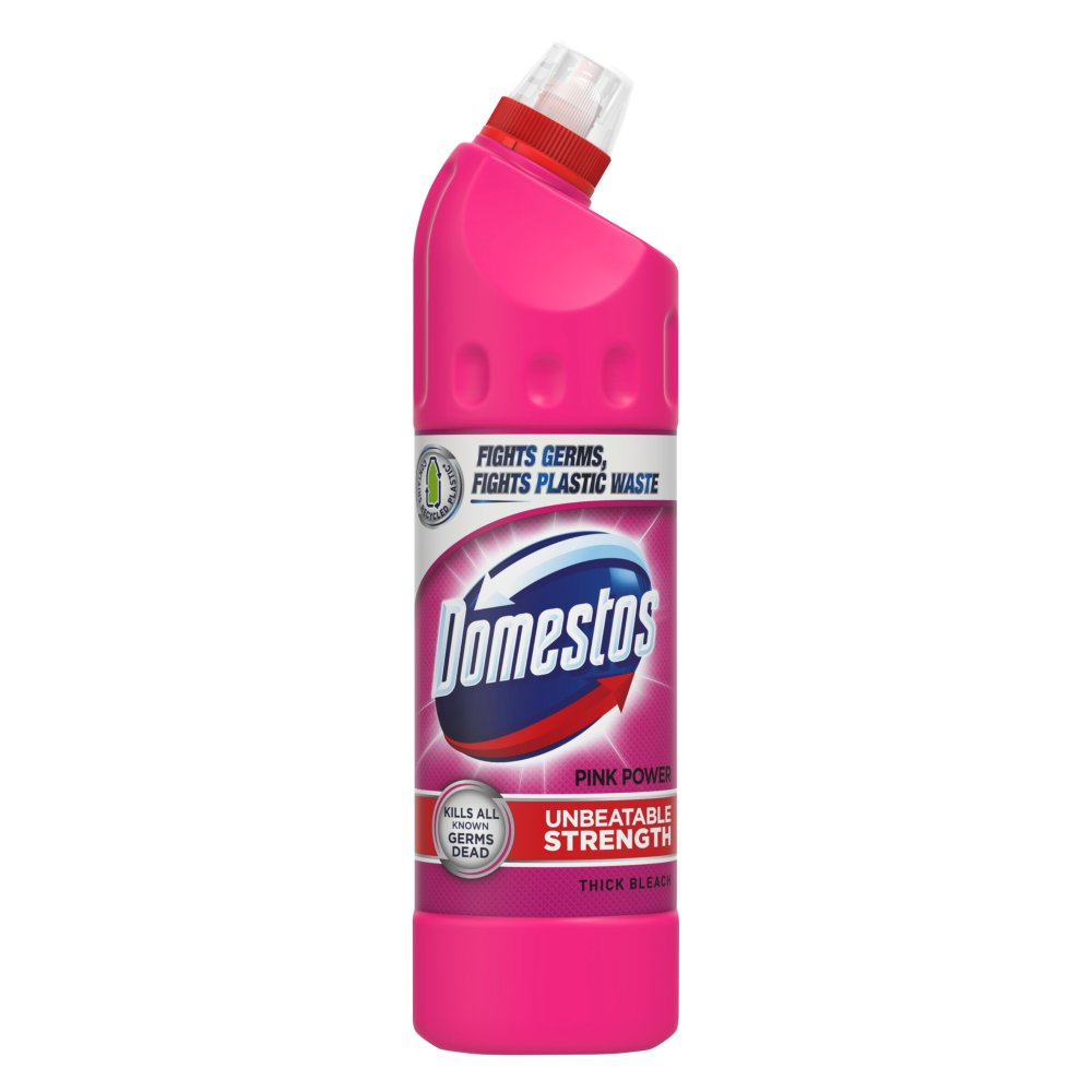 Domestos Pink Thick Bleach 750ml
