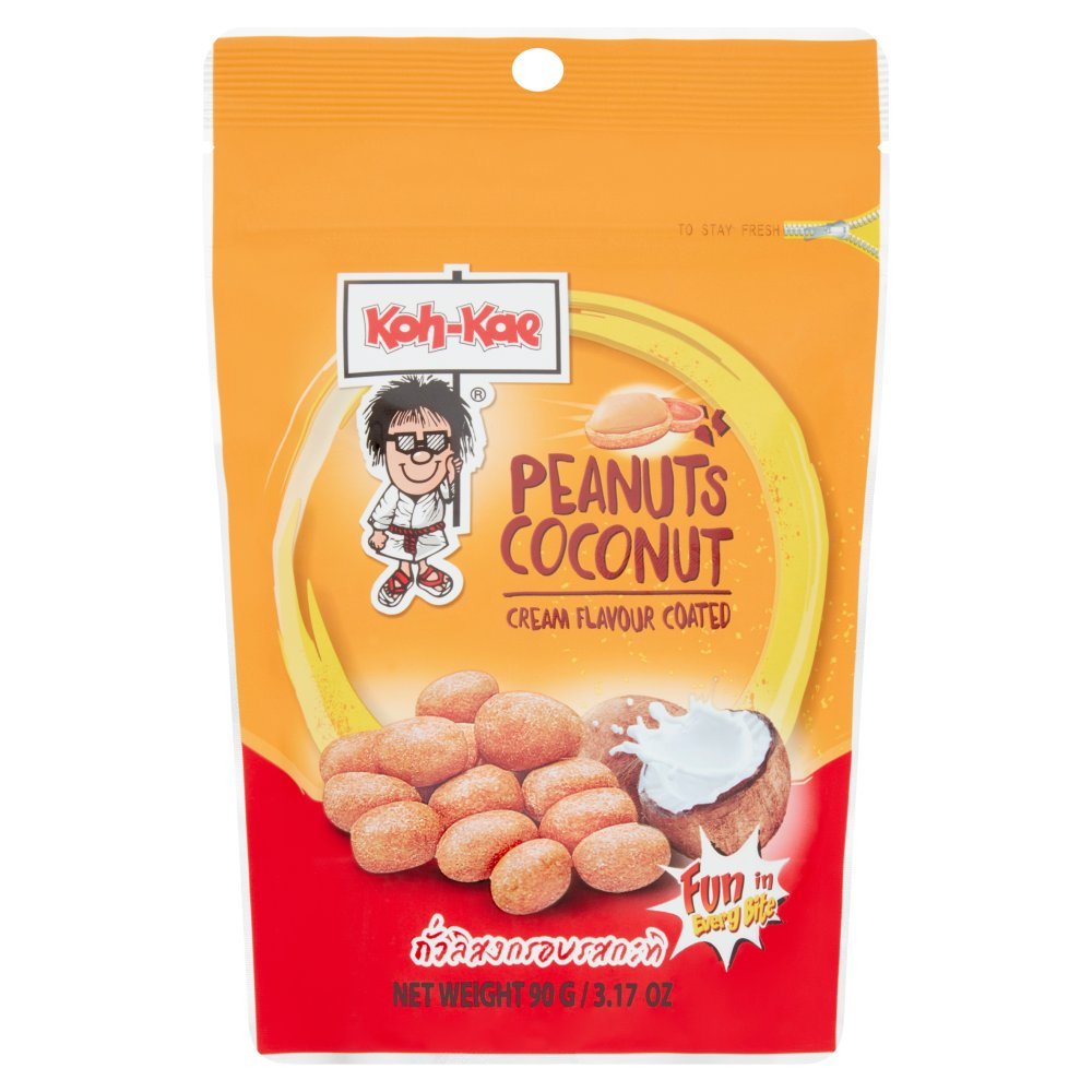 Koh Kae Peanuts Coconut Cream Flavour Coated 90g