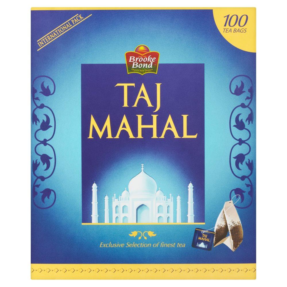 Brooke Bond Taj Mahal 100 Tea Bags 200g