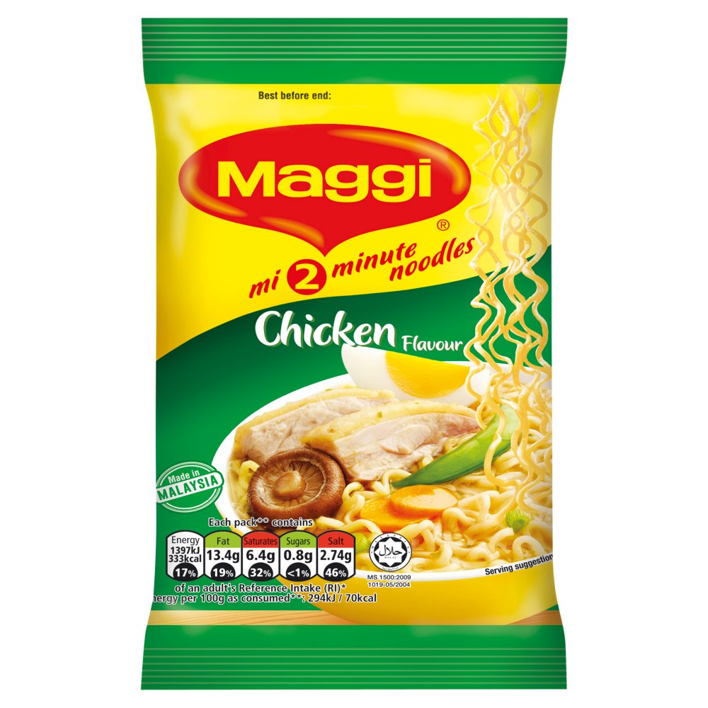 MAGGI 2 Minute Chicken Flavour Noodles 75g