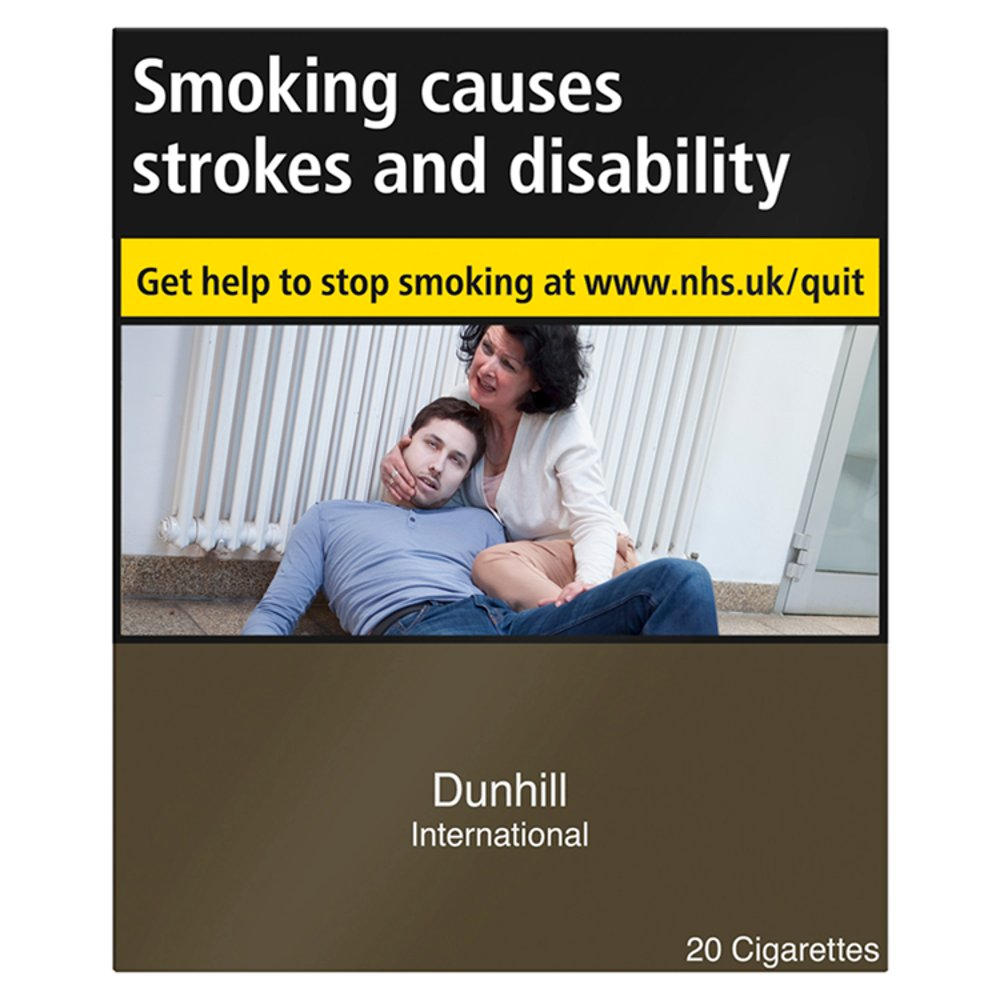 Dunhill International 20 Cigarettes