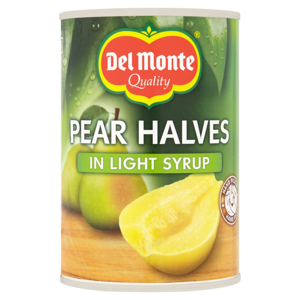 Del Monte Pear Halves in Light Syrup 420g