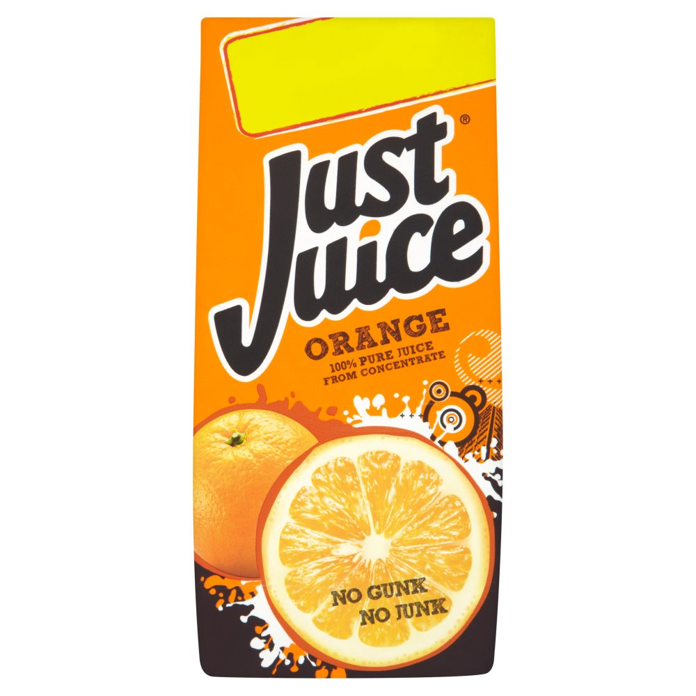 Just Juice Orange PM £1.29 Or 2 For £2