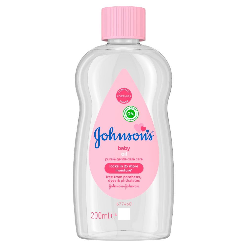JOHNSON'S® Baby Oil 200ml :: Bestway Wholesale