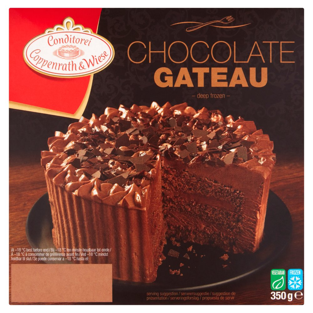 Conditorei Coppenrath & Wiese Chocolate Gateau 350g