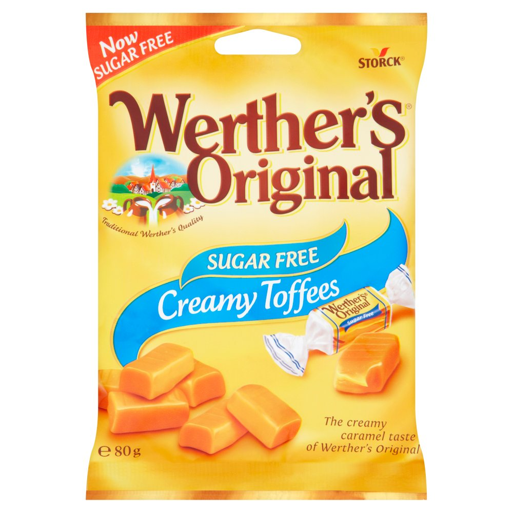 Werthers Sugar Free Toffee Bag